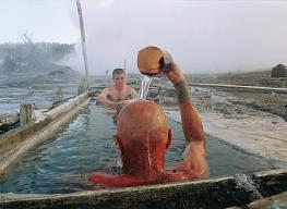Andrey Shapran. South Kuril Islands. The thermal spring